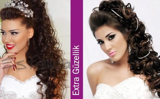 Gelin Saç Modelleri 2015