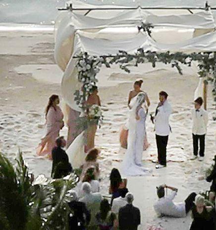 Johnny Deep ve Amber Heard Düğünü Basına Sızdı (2)