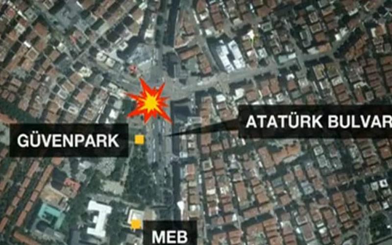 Ankara'da Gerçekleşen patlama 27 ölü 75 yaralı var.