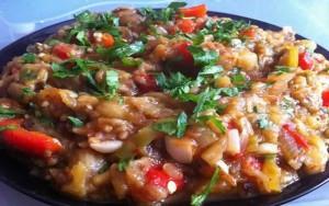 Patlıcan-Salatası