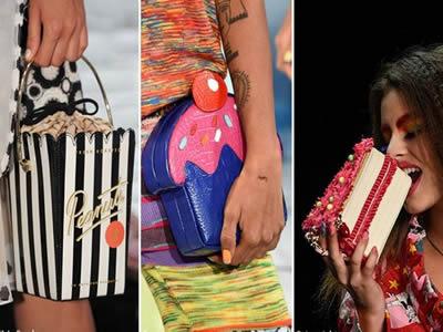 2016 çanta trendi gıda şekilli çanta