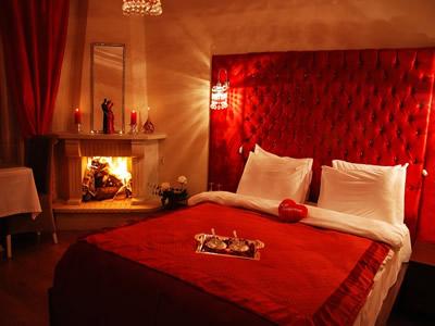 romantik yatak odası dekorasyon
