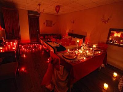 romantik yatak odası