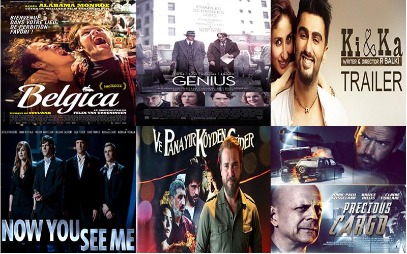 2016 vizyondakı filmler