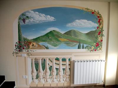 ilginç duvar boyamaları