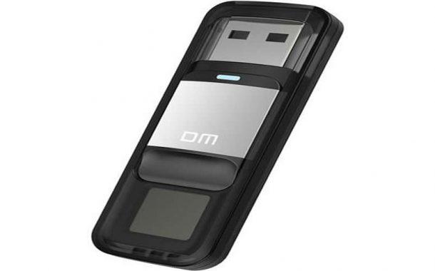 Parmak İzi Okuyabilen Şifreli USB Bellek