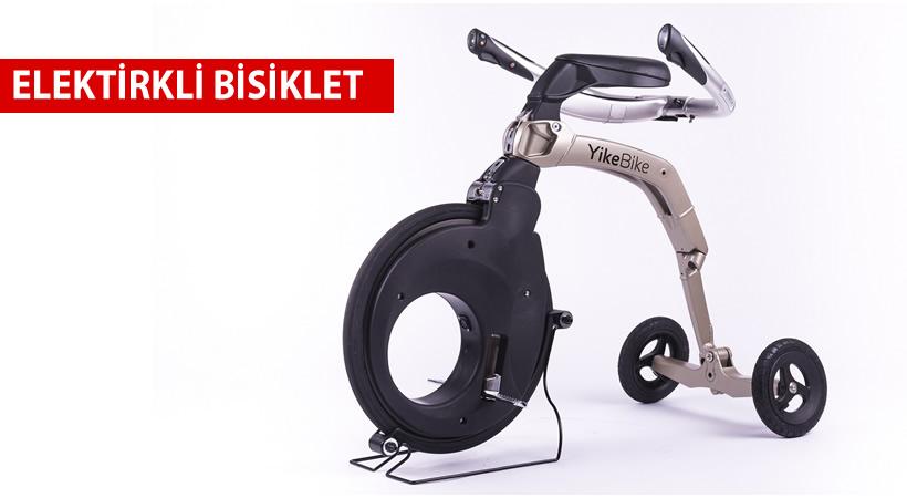 Taşınabilir Elektrikli Bisiklet