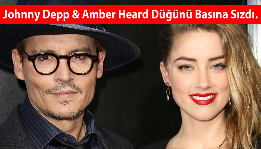 Johnny Depp ve Amber Heard Düğünü