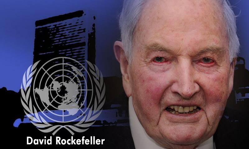David Rockefeller'in İtirafları