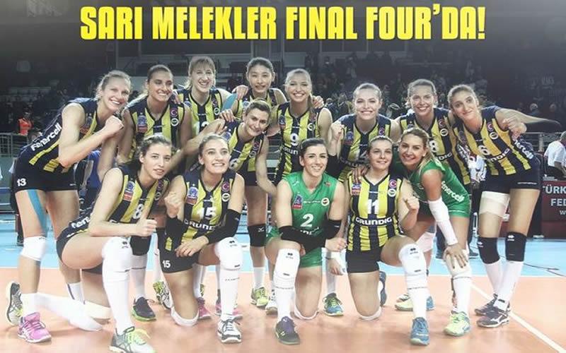 Fenerbahçe Grundig  Final Four'a yükseldi.