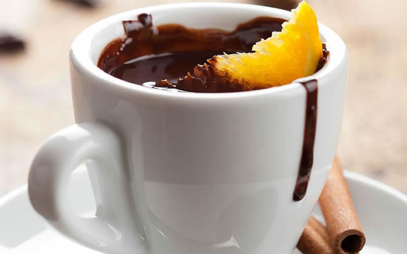 portakalli çikolata