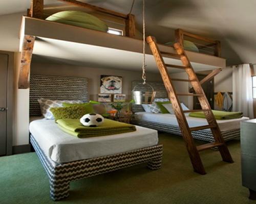 3 çocuk odası