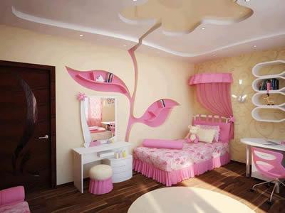 kız odası tasarım