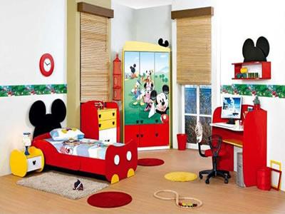 michey mouse oda tasarımı