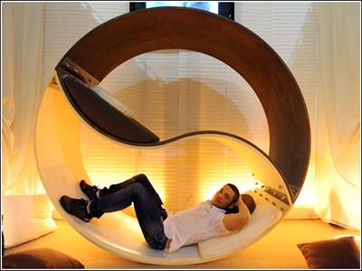 ilginç yatak odası tasarımı