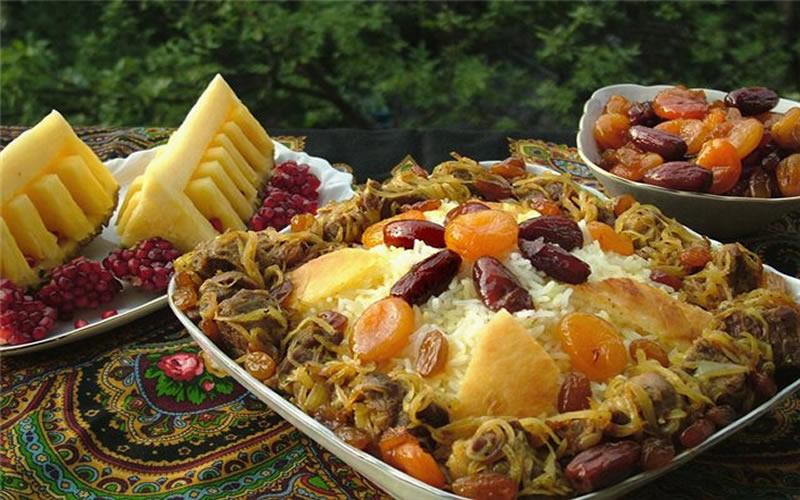 Döşeme Plov (Azeri pilavı)